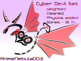 Cyber Devil Set DL! by AnimeNebula003