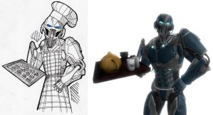 Cyber Sub-Zero cook by Benzzzin232
