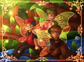 .: FairyTubers :. +SPEEDPAINT by AquaGD