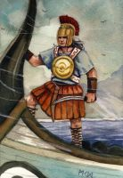 Illyrian pirate by residentsmooth