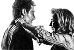 Mulder and Scully by monila1000