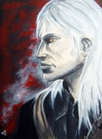 Geralt of Rivia by TheLadyFalcon