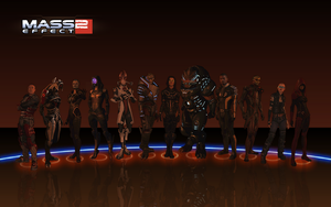Mass Effect 2 Team NEW outfits by BlackSheep64