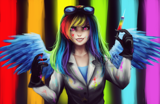 Rainbow Factory - Old drawing Redraw by Nasuki100