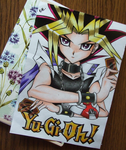 Atem from Yugioh by GR-the-queen