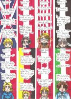 Bookmarks (Country Quotes) by UnsunkenHedgehog101