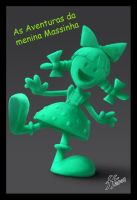 claymation girl by 14-bis