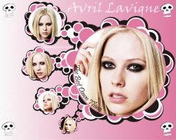 - AVRIL LAVIGNE WALL - by BigTema