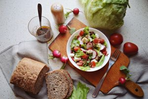 Breakfast spring salad by SunnySpring