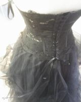 black wedding dress by Eyod