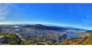 Bergen at Day by IndustrialSilence