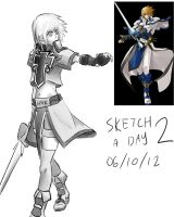 SaD 2 : Ky Kiske by dudeunderscore