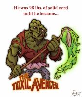 The Toxic Avenger by WonderDookie