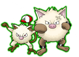 Mankey and Primeape by Ninjendo