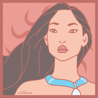 Pocahontas Fan Art by MairaArtwork