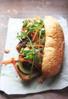 Grilled Chicken Banh Mi by sasQuat-ch