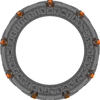 Micro Scale Stargate by JohnnyMuffintop