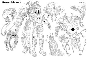 Space Suit C by Axel13-Gallery