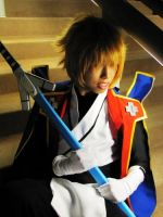 Blazblue: Jin Kisaragi by gacktstream