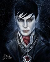 Dark Shadows, Barnabas Collins Art by DavidLau82