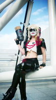 Harley Quinn by little-juju