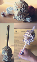 Origami penguin by lipid-fatality
