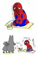 Poor Spiderman by BACBAC-MIKI