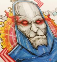 Darkseid DC Comics Commission by ChrisOzFulton
