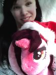 Me and Pich plushie wishes you a good continuing! by Wooxx