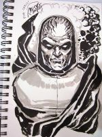HeroesCon 2011 - Darkseid by mysteryming