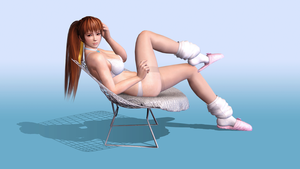 Kasumi Chilling 1920x1080 by RadiantEld