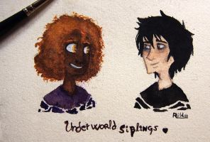 UnderWorld Siblings by Ailda