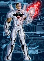 New 52: Cyborg by grivitt
