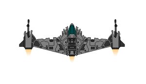 Star Wars B-Ugly Starfighter by Seeras