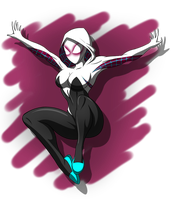 Spider-Gwen by ZantyARZ