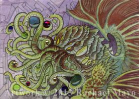 ACEO Cthulhu 02 by rachaelm5
