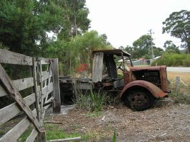 Old Rusty Truck 3 by stock-kitty