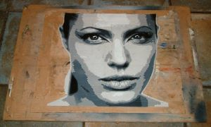 Angelina Jolie by 8ballart