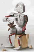 B is for Big Robot Bil by bigjko