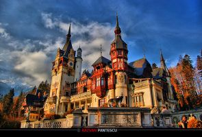 Peles Castle. by razvanx