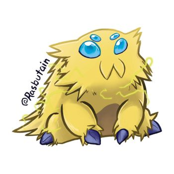 Joltik sitting by mikurose