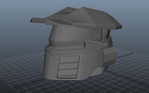 Halo helmet by SkullProbe41
