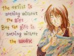 The Artist by panchan77