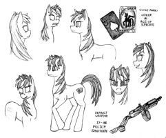 Project Horizons Blackjack Sketches by Nukechaser24