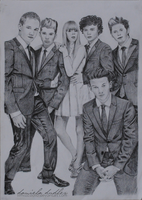 1D Vogue Drawing by ItsDaniDee
