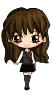 Hermione Chibi by IcyPanther1