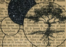 ACEO - Tree in a bubble by melissamyth