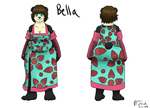Bella Character Design by MisterFinch