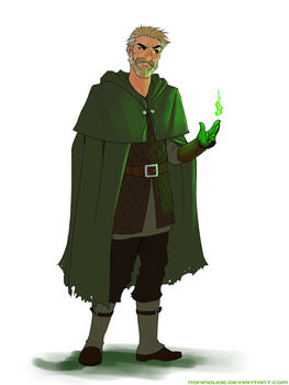 Commission - Ivan Greenflame by RoninDude