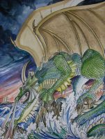 Dragon UnChartered Waters by HouseofChabrier